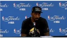 MUST WATCH: JR Smith breaks down after father tribute