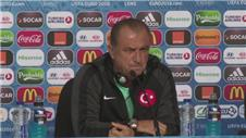 Turkish coach 'upset' by team's performances