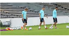 Croatia prepare for Spain encounter