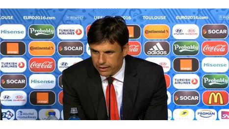 Coleman reacts to Wales progression