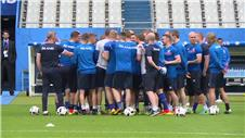 Iceland warn Austria of 'rather tough' match