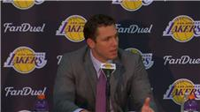 Walton introduced as LA Lakers head coach