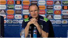 Martin O'Neill jokes France clash will be easy