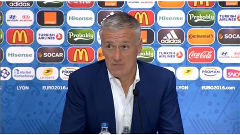 EURO 2016: Deschamps: 'We had to dig deep'