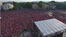 Hungary welcomes home Euro heroes