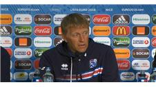'England game was Iceland's best yet' - Hallgrimsson
