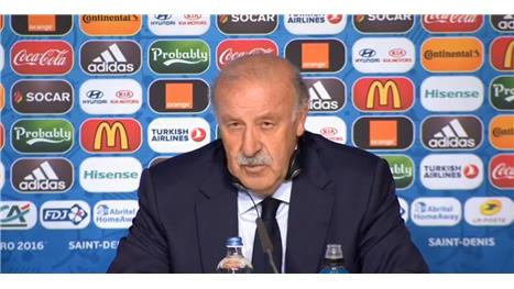 Italy better than 'timid' Spain - del Bosque