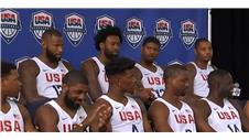 USAs Olympic mens basketball team unveiled