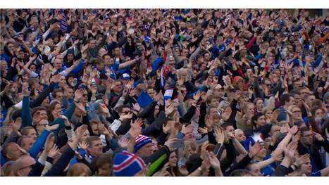 Iceland fan explains the Icelandic 'thunder'