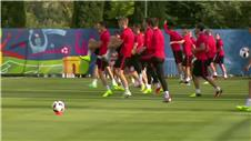 Poland prepare for Portugal