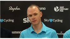 Froome talks different tour preparations