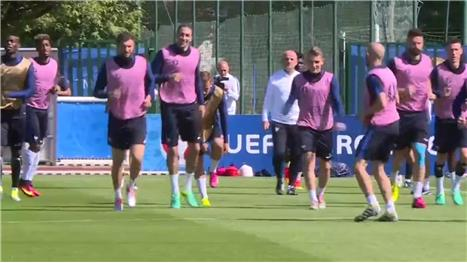 France gear up for Iceland test