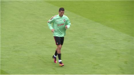 Portugal training hard ahead of Wales clash