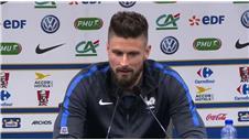"Giroud: ""We'll respect Germany"""