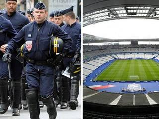 Controlled Explosion Carried Out At Stade De France