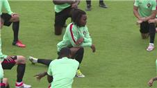 Portugal make final preparations for Wales