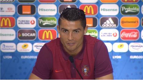 I deserve Euro final - Ronaldo