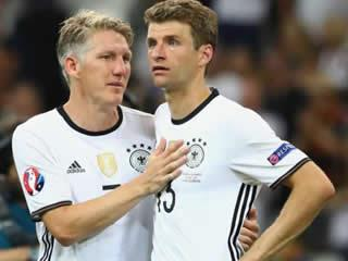 Schweinsteiger proud of Germany despite 'real shame' of France defeat