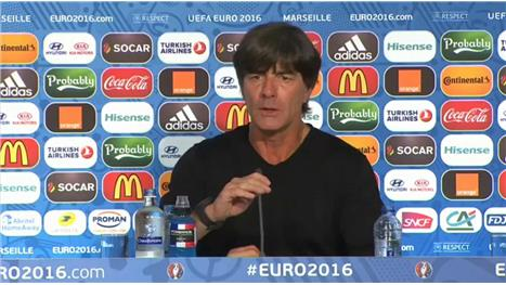Loew: Germany deserved to win