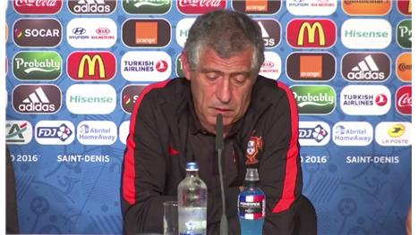 Santos: 'Pressure on France but they have experience'