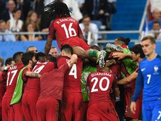France 0 - 1 Portugal(aet): Cristiano Ronaldo's tears turn to joy as Portugal beat France to win Euro 2016