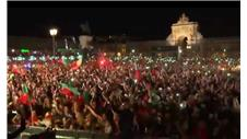 Portugal fans go mad in Lisbon and Paris