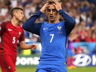 France forward Antoine Griezmann named best player of Euro 2016