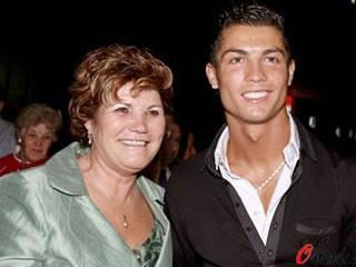 Cristiano Ronaldo's mum was not happy with Dimitri Payet after heavy tackle