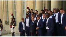 Presidential meeting for France's beaten stars