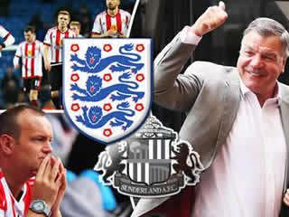 Sam Allardyce favourite to take England job: Sunderland's season could be jeopardy