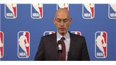 NBA Commissioner speaks at the off-season meeting