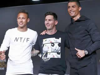 Neymar: Cristiano Ronaldo is the favourite for the Ballon d'Or