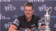 Stenson: 'I felt it was my turn, what a fight with Mickelson!'