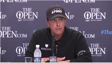 Mickelson 'disappointed but pleased for Stenson'