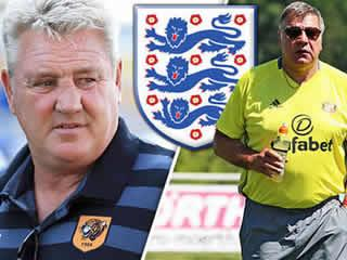 Steve Bruce wants to beat Sam Allardyce in race to become next England manager