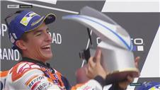 Marquez triumphs in Germany