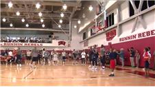 U.S. basketball team start their Las Vegas training camp