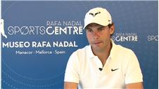 Nadal discusses the opening of his museum, injuries and the Olympics
