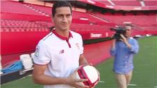 Brazilian Ganso unveiled as Sevilla player