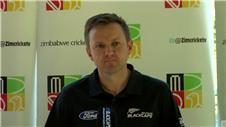New Zealand coach Hesson expecting a 'tough series' with Zimbabwe