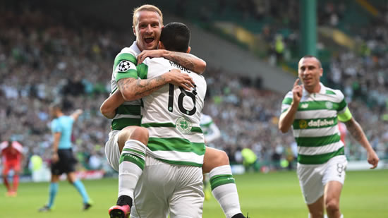 Celtic 5 - 2 Hapoel Beer Sheva: Five-star Celtic move to brink of Champions League group stage