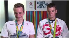 "Brownlee brothers reflect on ""massively special"" Olympic triathlon"