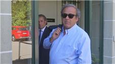 FIFA: Platini attends Blatter appeal hearing