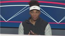 Serena: Feeling the pressure