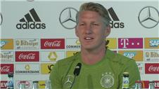 International farewell is emotional, says Schweinsteiger