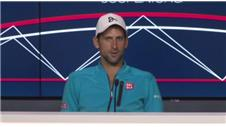 US Open: Djokovic reflects on first round win