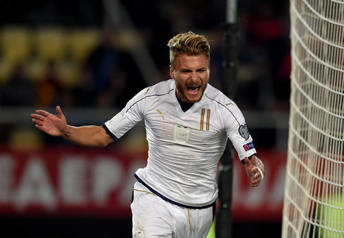 FYR Macedonia 2 - 3 Italy: Ciro Immobile leads fightback as Italy rally late on to beat Macedonia