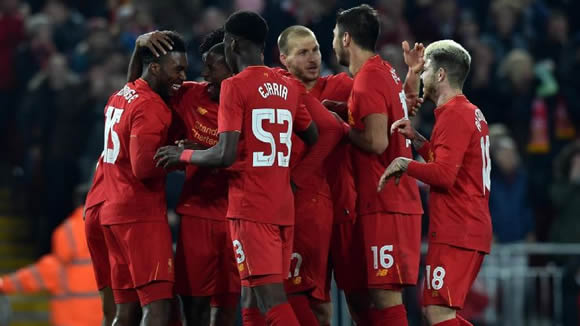 Daniel Sturridge, Liverpool beat young Spurs in EFL Cup; Arsenal advance