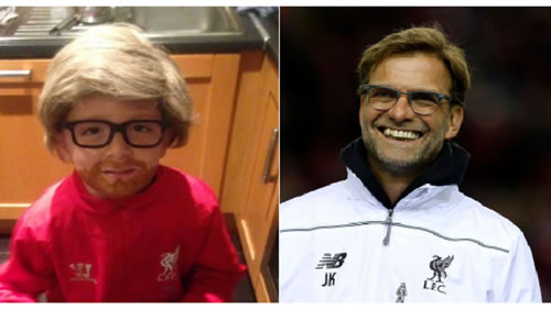 This Little Liverpool Supporter Wins Halloween With Brilliant Fancy Dress