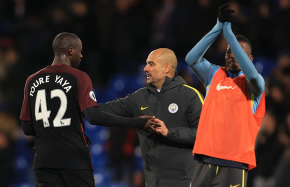 Yaya Toure thanks Pep Guardiola, Man City teammates after return from exile